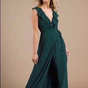 Formal hunter green dress